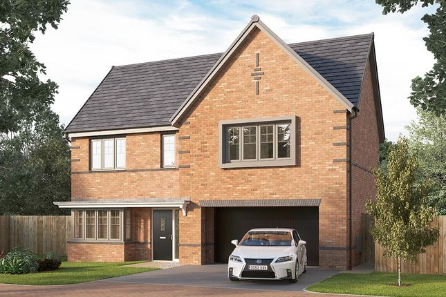 """Thumbnail Detached house for sale in """"The Welbury"""" at Longwall Road, Pontefract"""