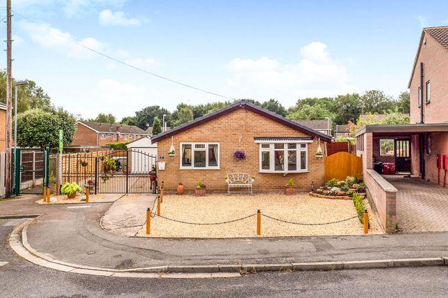 Thumbnail Detached bungalow for sale in Taupo Drive, Hucknall, Nottingham
