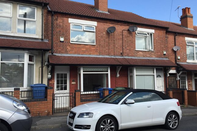 Thumbnail Terraced house to rent in Redcliffe Road, Mansfield