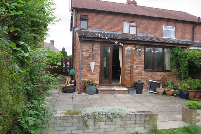 Thumbnail Semi-detached house for sale in Burton Road, Little Neston, Neston