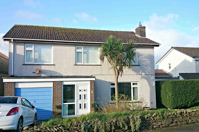 Thumbnail Detached house for sale in Clemens Close, Tretherras, Newquay