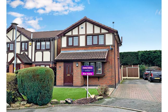 Thumbnail Detached house for sale in Canterfield Close, Manchester