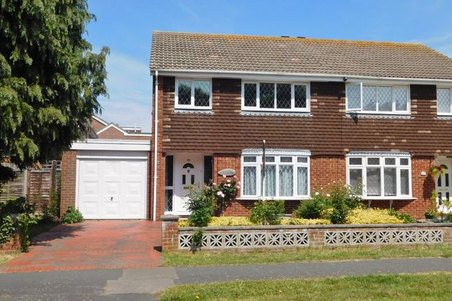 Thumbnail Semi-detached house for sale in Gorran Avenue, Gosport