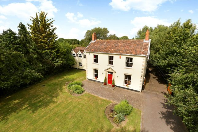 Thumbnail Detached house for sale in Old Coach Road, Lower Weare, Axbridge, Somerset