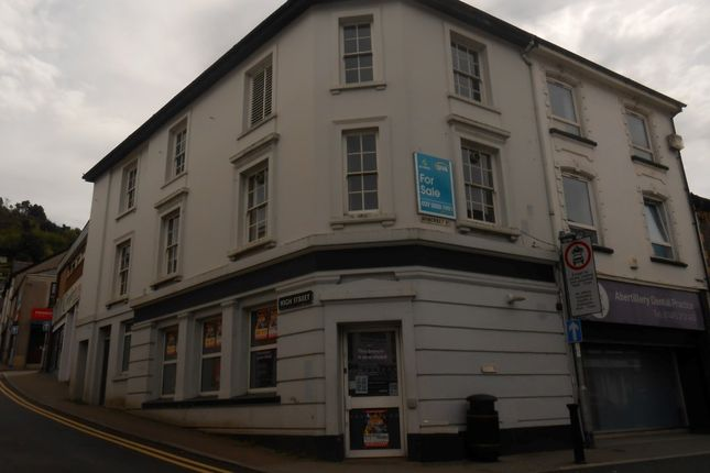 Thumbnail Commercial property for sale in The Former Nat West Bank, 1 Somerset Street, Abertillery
