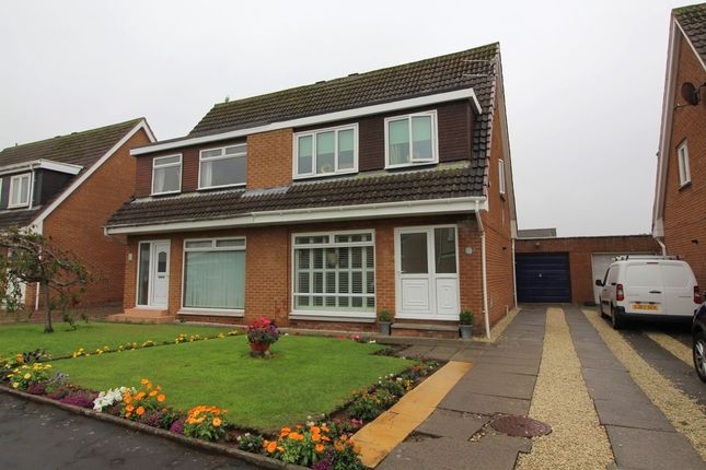Thumbnail Semi-detached house for sale in Calvinston Road, Prestwick