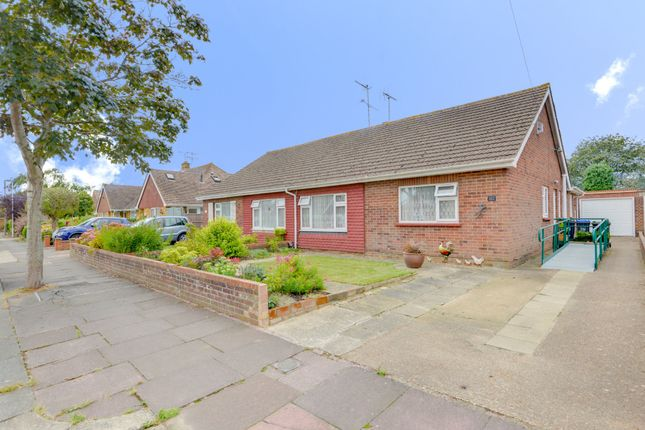 Thumbnail Semi-detached bungalow for sale in Windermere Crescent, Goring-By-Sea, Worthing