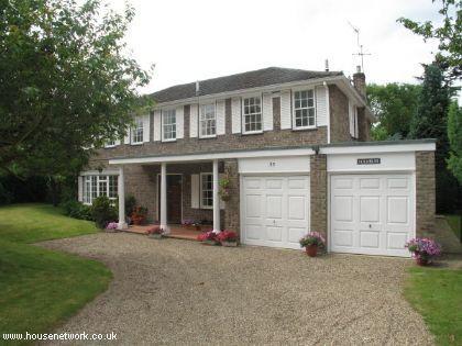 Thumbnail Detached house for sale in Pine Walk, Cobham, Surrey