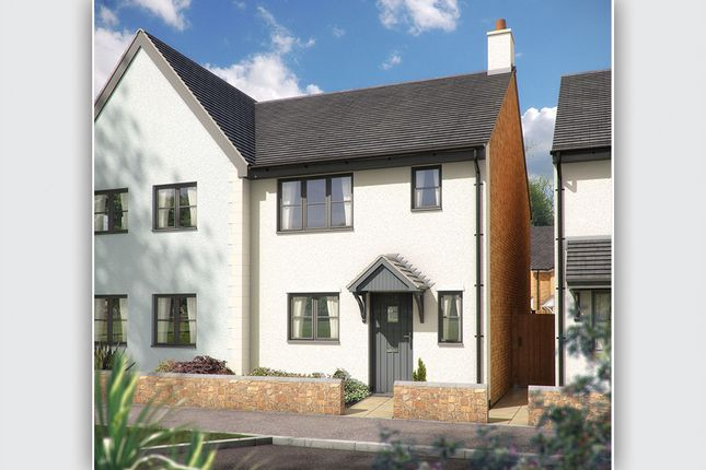 "Thumbnail Semi-detached house for sale in ""The Southwold"" at Stratton Road, Bude"