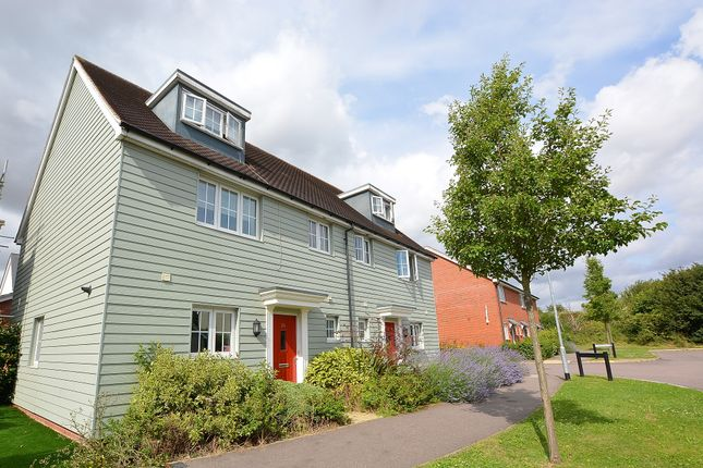4 bed semi-detached house for sale in Saffron Way, Dunmow, Essex