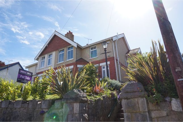 Thumbnail Semi-detached house for sale in Colwyn Crescent, Colwyn Bay