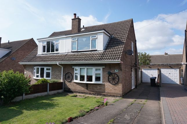 Thumbnail Semi-detached house for sale in Canning Road, Glascote, Tamworth