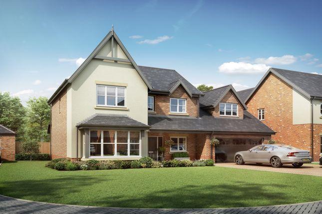 Thumbnail Detached house for sale in Medburn Park, Medburn Village, Newcastle Upon Tyne