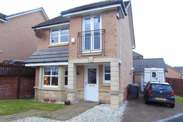 Thumbnail Detached house for sale in Wheatear Grove, Carnbroe, Coatbridge, North Lanarkshire