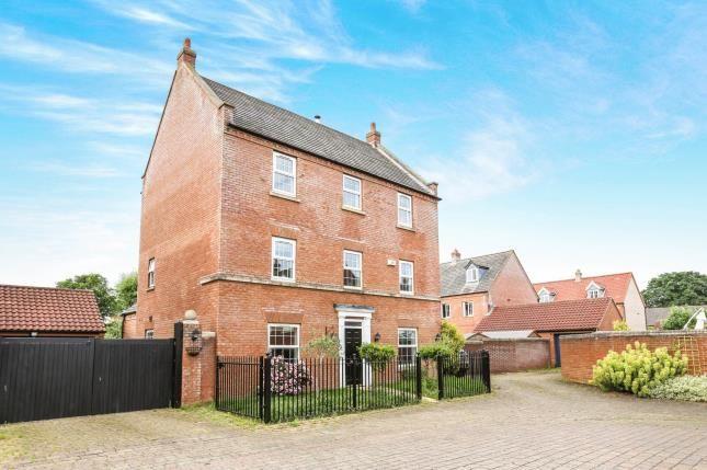 Thumbnail Detached house for sale in Nursery Close, Potton, Sandy, Bedfordshire