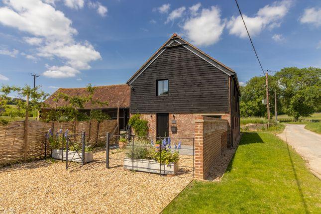 Thumbnail Barn conversion to rent in Lower Preshaw Lane, Upham, Southampton