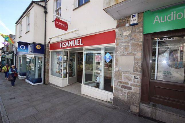 Thumbnail Retail premises to let in Unit 2, 111-112, Market Jew Street, Penzance