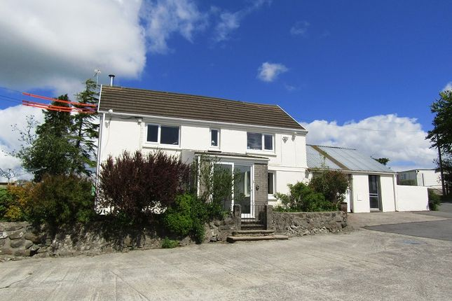 Thumbnail Detached house for sale in Bancycapel, Carmarthen, Carmarthenshire.