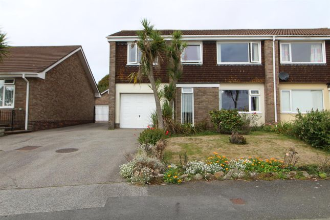 Thumbnail Semi-detached house for sale in Roskilling Wartha, Helston