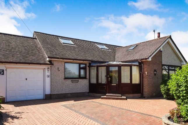 Thumbnail Detached bungalow for sale in Barrfield Road, Rhuddlan, Rhyl