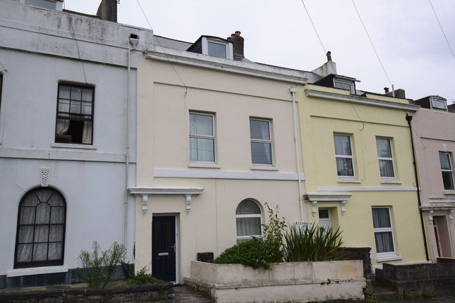 Thumbnail Terraced house for sale in Mount Street, Plymouth