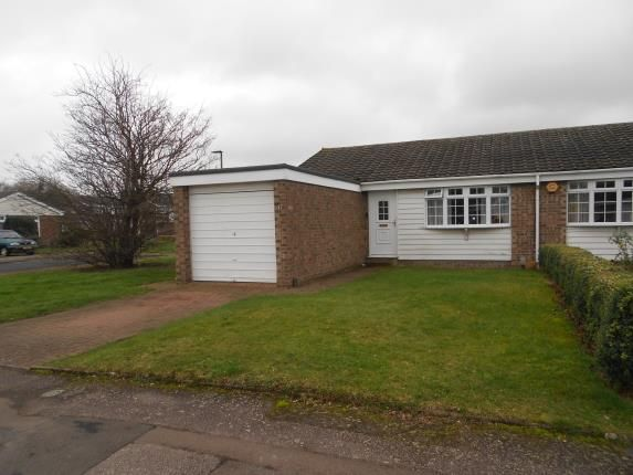 Thumbnail Bungalow for sale in Lydford Close, Bedford, Bedfordshire