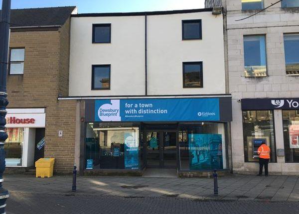 Thumbnail Retail premises for sale in 50-52, Market Place, Dewsbury