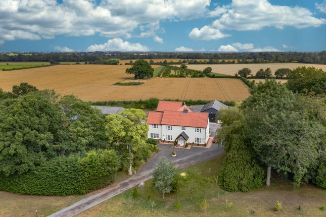Thumbnail Detached house for sale in North Green Road, Pulham Market, Diss, Norfolk