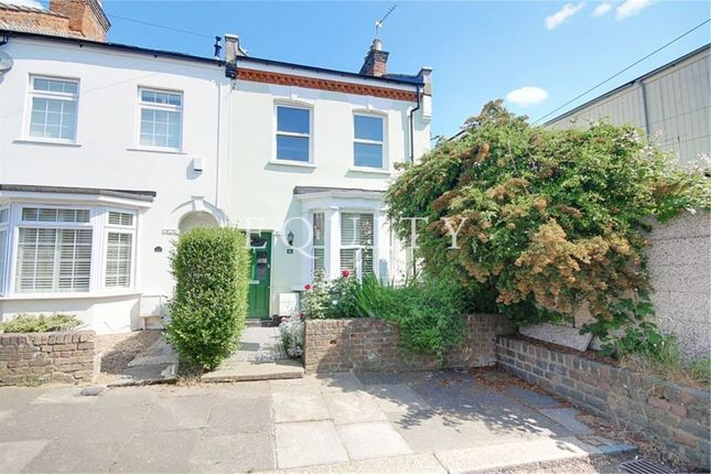 Thumbnail End terrace house for sale in Gresham Close, Enfield