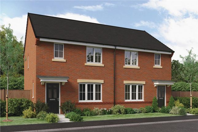 "Thumbnail Semi-detached house for sale in ""The Nevis Rk"" at Ladyburn Way, Hadston, Morpeth"