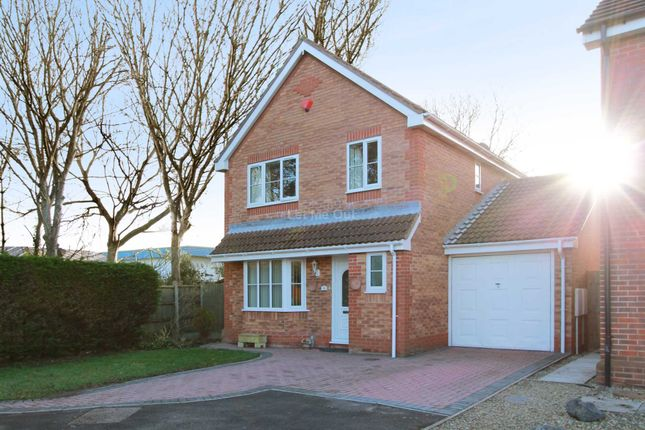 Thumbnail Detached house for sale in Capell Close, Weston-Super-Mare