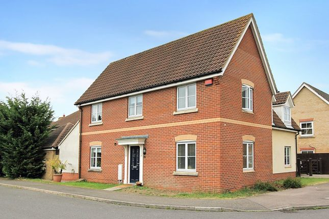 Thumbnail Detached house for sale in Pyrethrum Way, Willingham, Cambridge