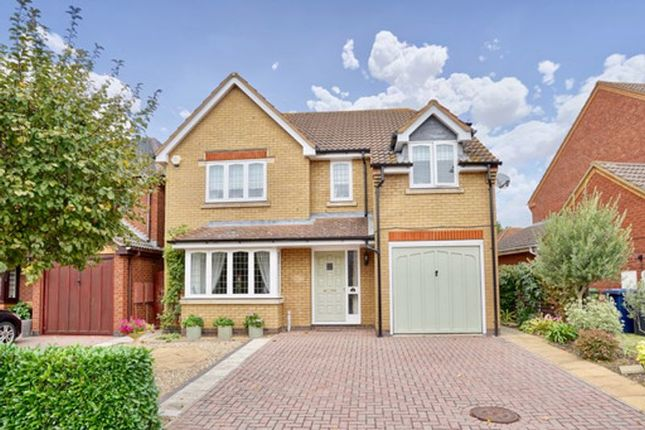 Thumbnail Detached house for sale in Blethan Drive, Stukeley Meadows, Huntingdon