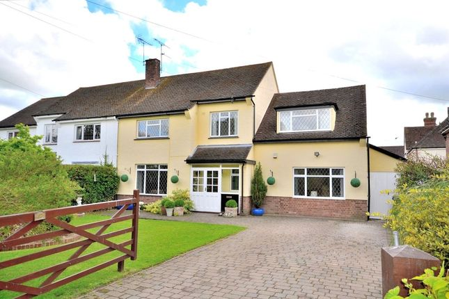 Thumbnail Semi-detached house for sale in St. Johns Road, Stansted
