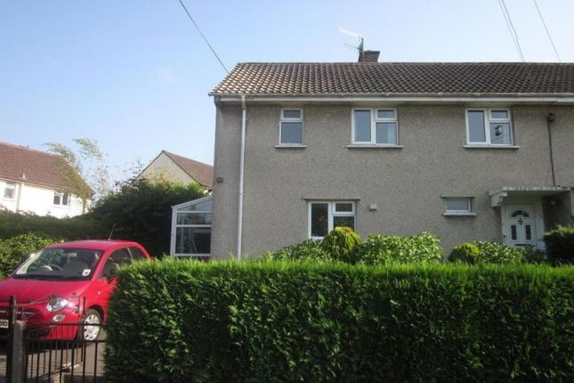 Thumbnail Semi-detached house for sale in Westfield Drive, Backwell, Bristol