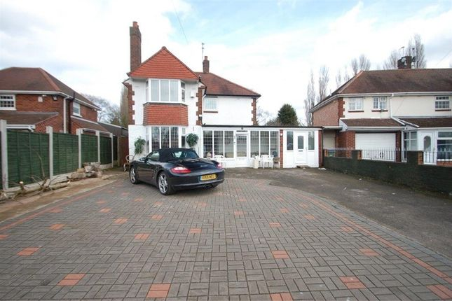 Thumbnail Detached house for sale in Ray Hall Lane, Great Barr, Birmingham