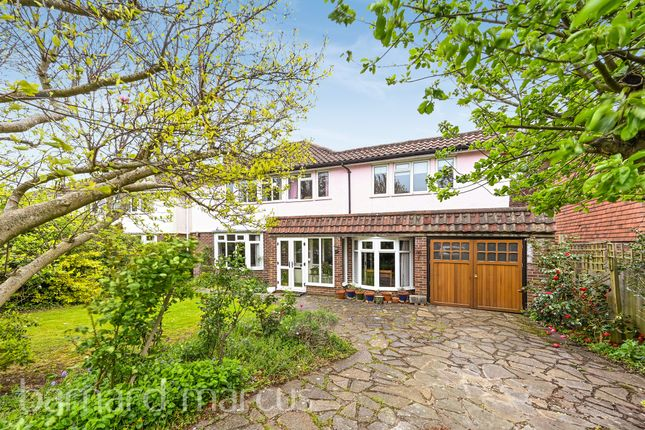 Thumbnail Detached house for sale in Couchmore Avenue, Esher