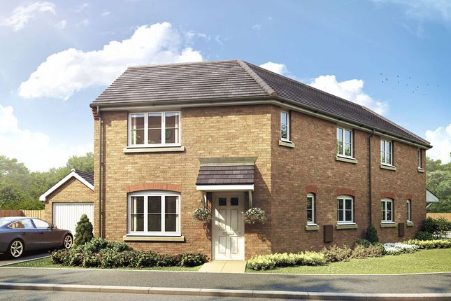 Semi-detached house for sale in The Winthorpe, Livingstone Road (Off Lyveden Way), Oakley Vale, Corby, Northamptonshire
