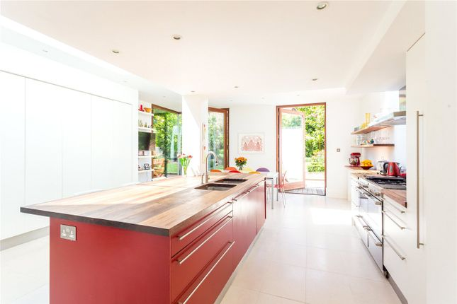 Thumbnail End terrace house for sale in Connaught Road, London