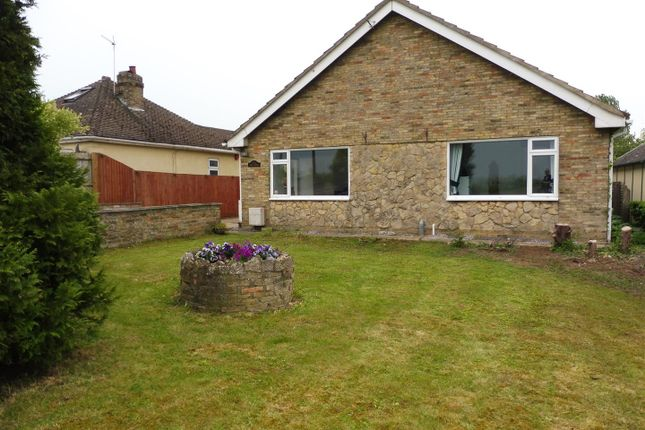 Thumbnail Detached bungalow for sale in Lynn Road, Chettisham, Ely