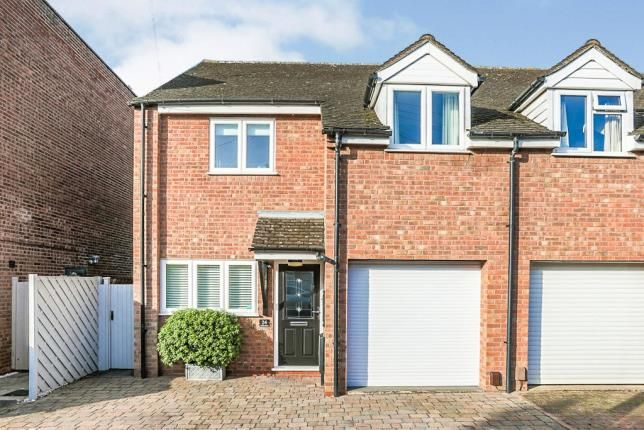 Thumbnail Semi-detached house for sale in Holtom Street, Stratford Upon Avon, Warwickshire