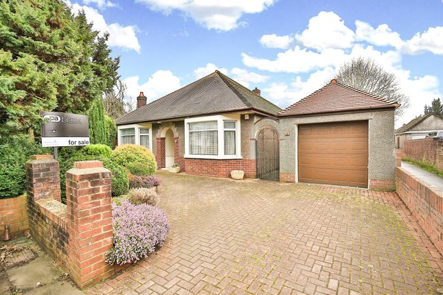 Thumbnail Detached bungalow for sale in King George V Drive West, Heath, Cardiff
