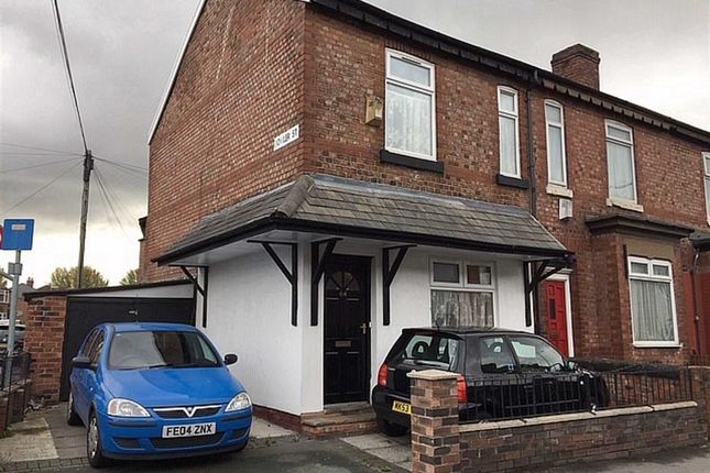 Thumbnail End terrace house for sale in Broom Lane, Levenshulme, Manchester