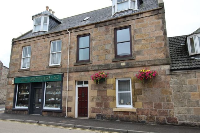 Thumbnail Flat to rent in High Street, Fochabers