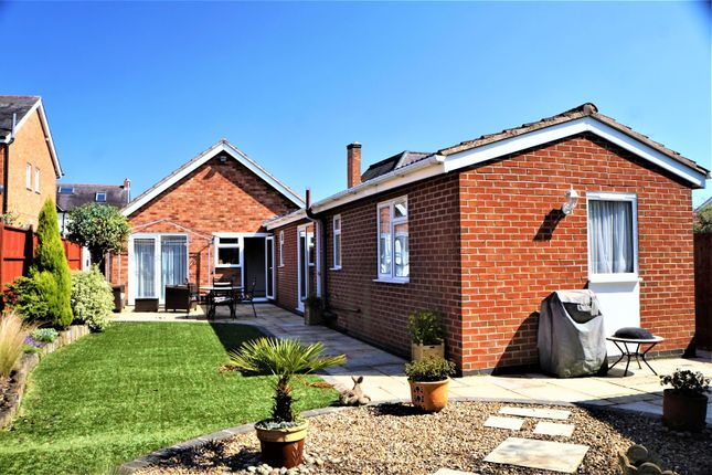 Thumbnail Detached bungalow for sale in James Street, Anstey, Leicester