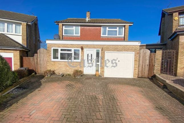 Thumbnail Detached house for sale in Norman Close, Waltham Abbey, Essex