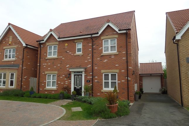 Thumbnail Detached house for sale in Maybell Close, Gainsborough