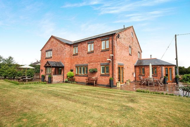 Thumbnail Detached house for sale in Coton, Whitchurch