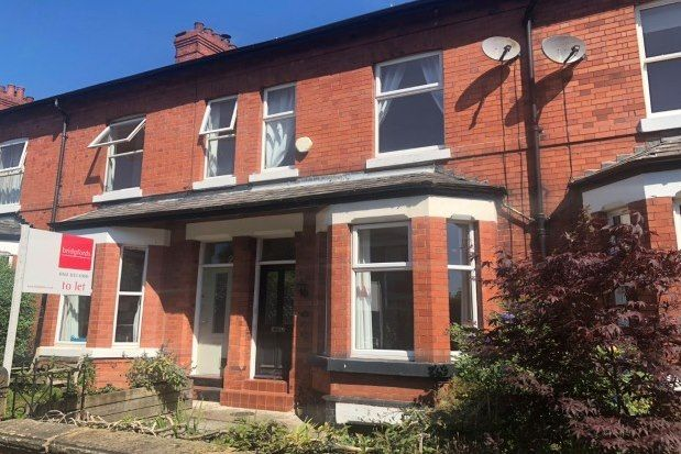 Thumbnail Terraced house to rent in Albemarle Road, Manchester