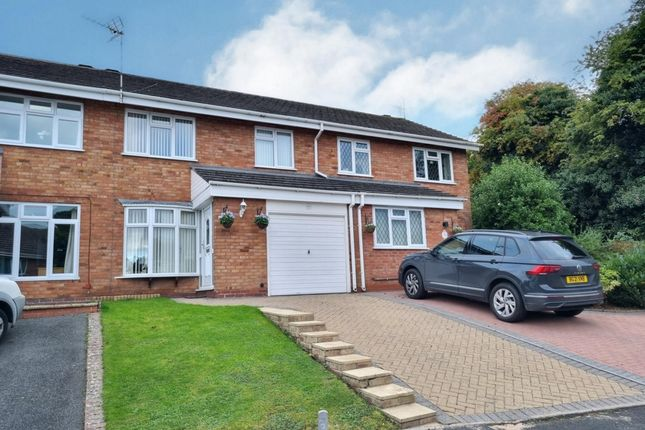 Thumbnail Terraced house for sale in Ledwych Road, Droitwich